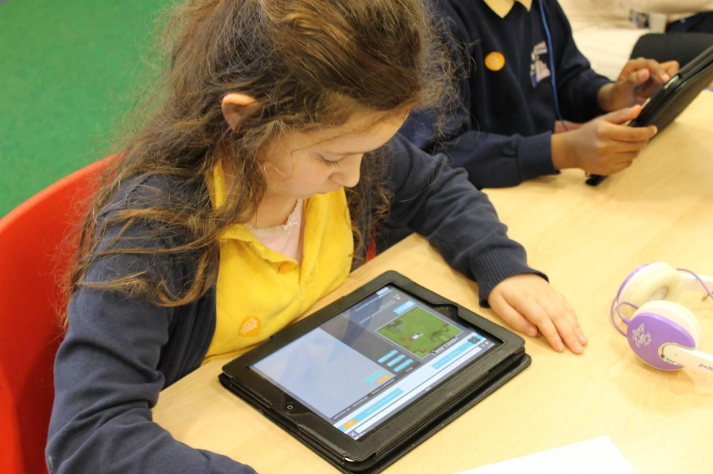Hour of Code - Brecknock Primary School