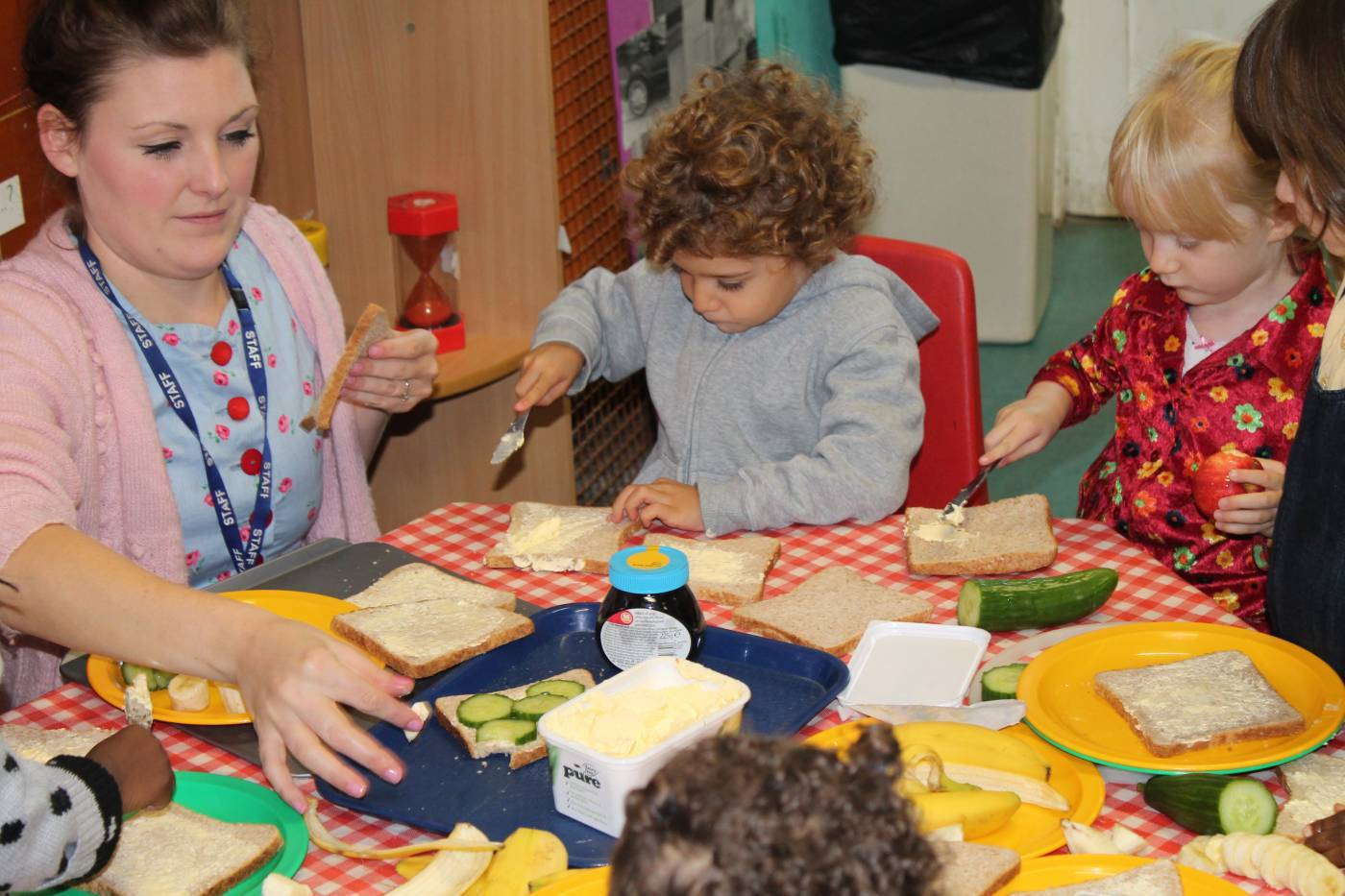 Cooking And Trying New Things In Nursery Brecknock