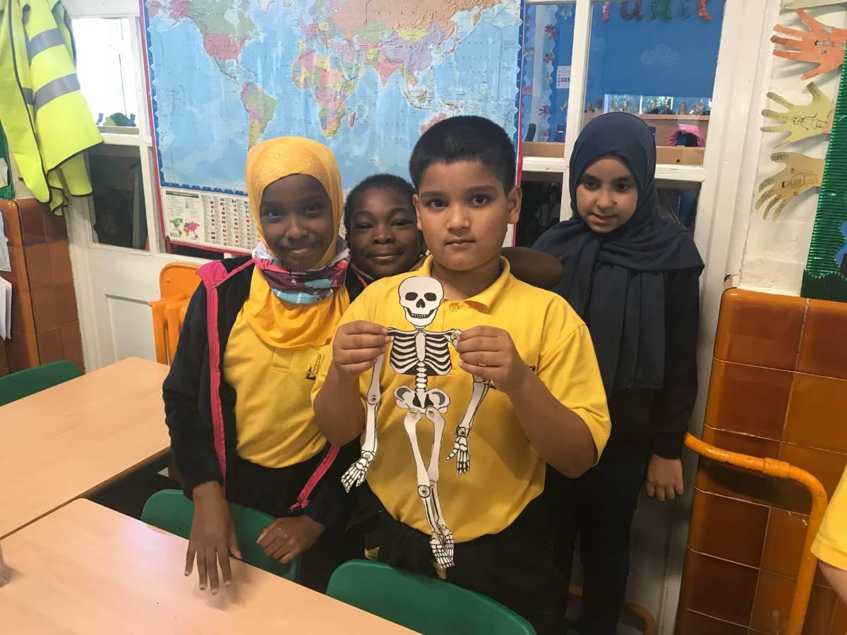 Spooky Scary Skeletons - Brecknock Primary School
