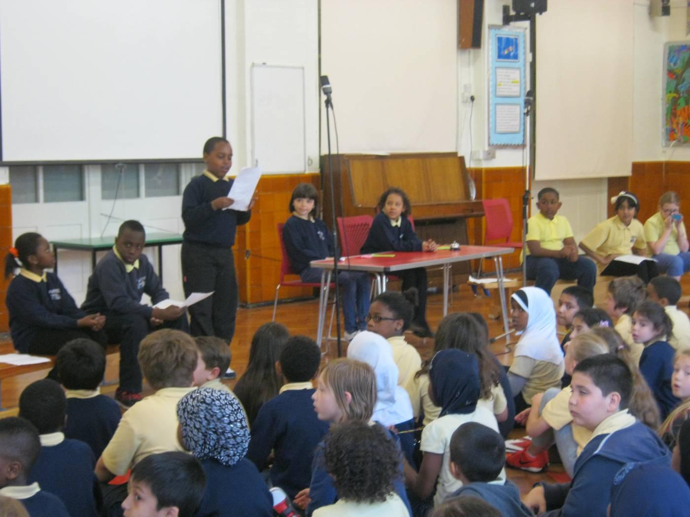 year 4 debate brecknock primary school