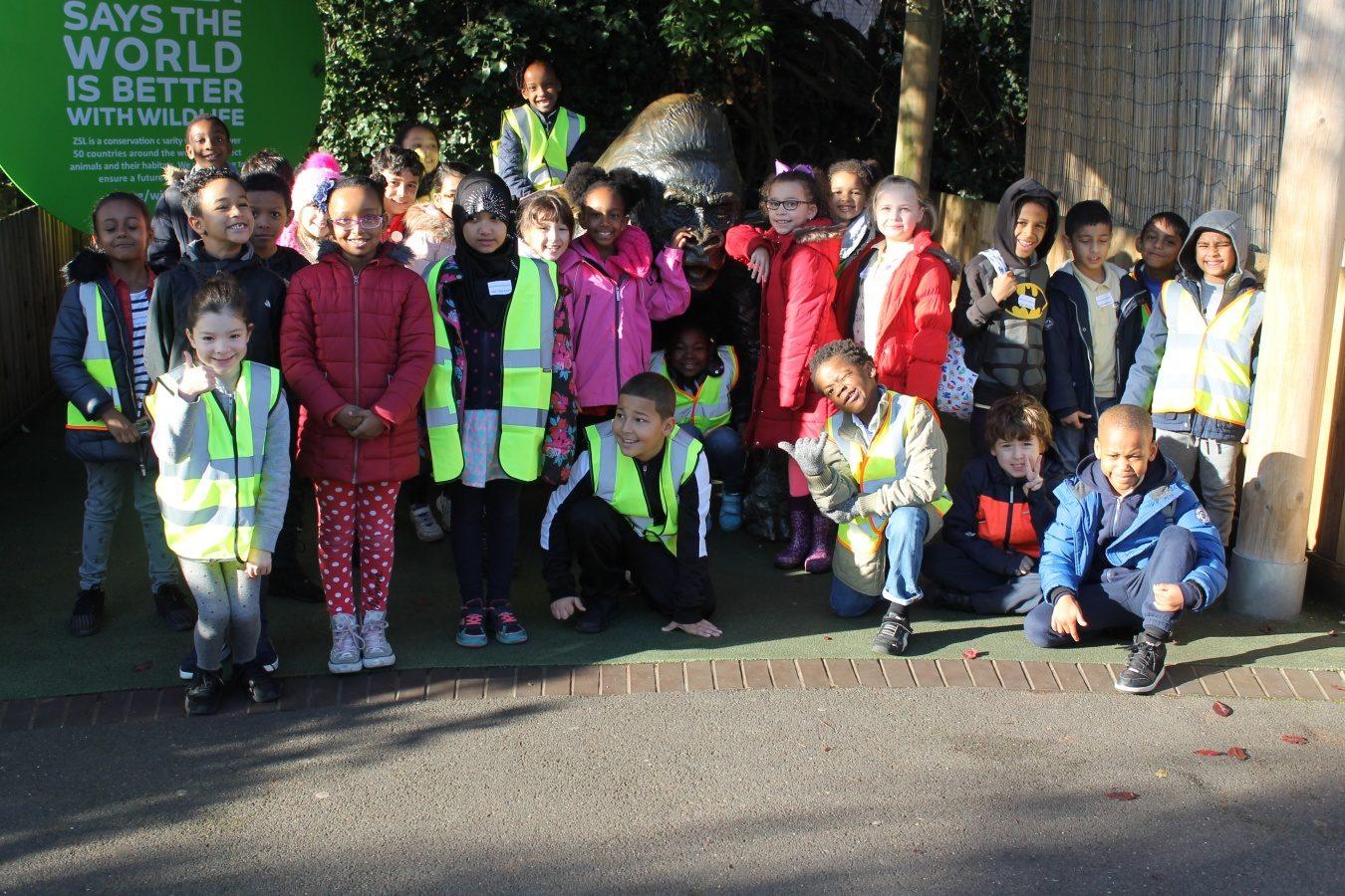 Year 3 visit London Zoo! - Brecknock Primary School